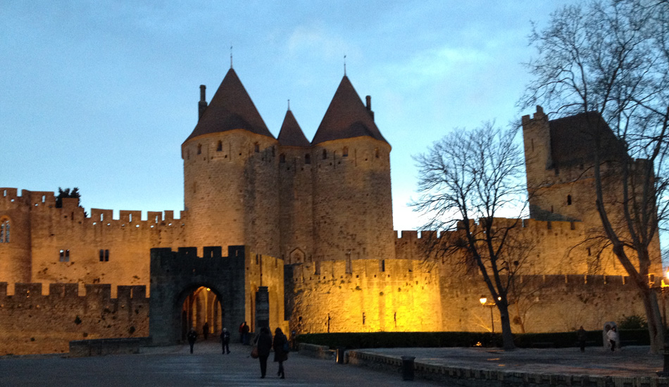 World Heritage Carcassonne – Fortress town in the south of France